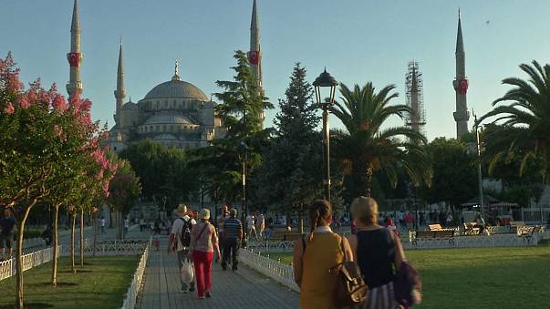Türkiye'ye gelen yabancı turist sayısında büyük düşüş