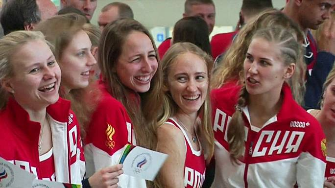 Olimpiyat oyunları: Rus kafilesi Rio yolunda