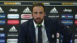 "Juventus, Higuain si presenta: ""Via da Napoli per colpa di De Laurentiis"""
