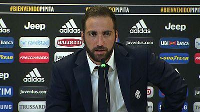 """Higuaín, presentado por la Juventus: """"Están habituados a ganar, por eso estoy aquí"""""""