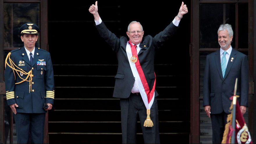 Pedro Pablo Kuczynski sworn in as Peru's new president