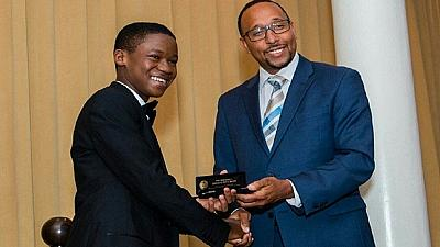 Young Ghanaian actor awarded with 'Key to City' of Worcester, Massachusetts