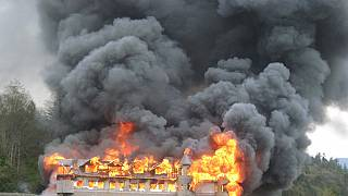Arson attack in Kenyan Schools