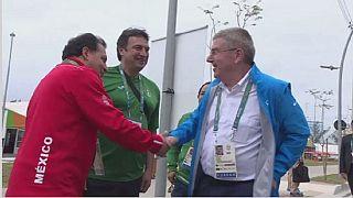 Rio 2016 : le président du CIO est arrivé au village olympique