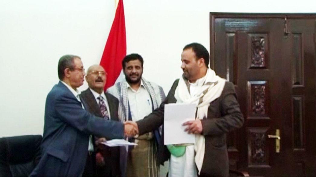 Υεμένη: Συμφωνία για το σχηματισμό κυβέρνησης συνυπέγραψαν οι Χούτι με τους υποστηρικτές του πρώην προέδρου
