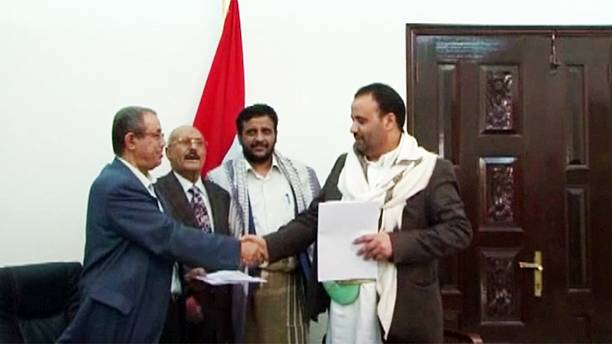 Yemen: Peace talks in crisis as Houthis sign government deal
