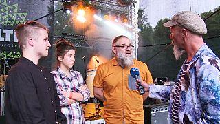 Os Kapela Maliszów tocam música tradicional polaca no Festival Globaltica