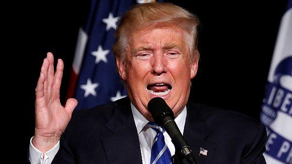 دونالد ترامب غاضبا من تصريحات البعض ضده
