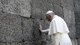 Il silenzio di papa Francesco a Auschwitz