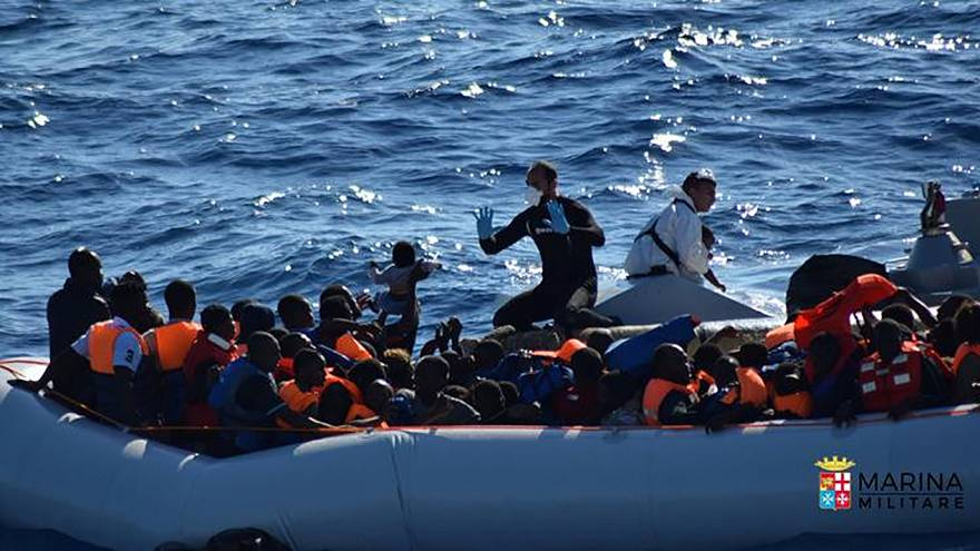 1,000 migrants cross the Med to Italy since Tuesday