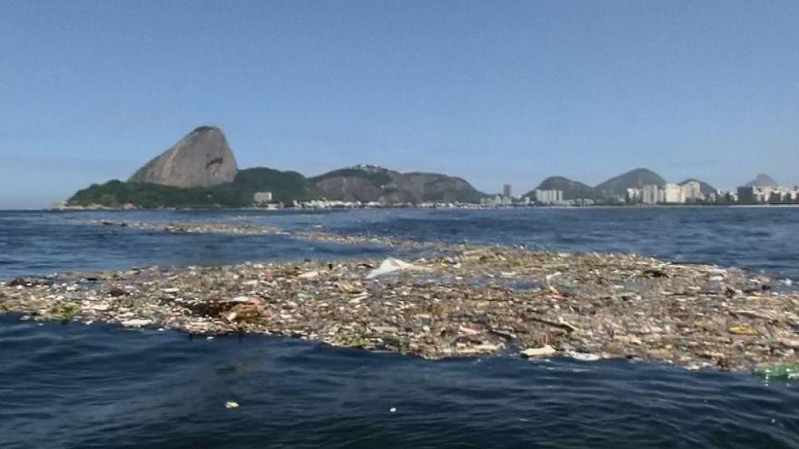 Rio'da Olimpiyatlar öncesi su kirliliği alarmı