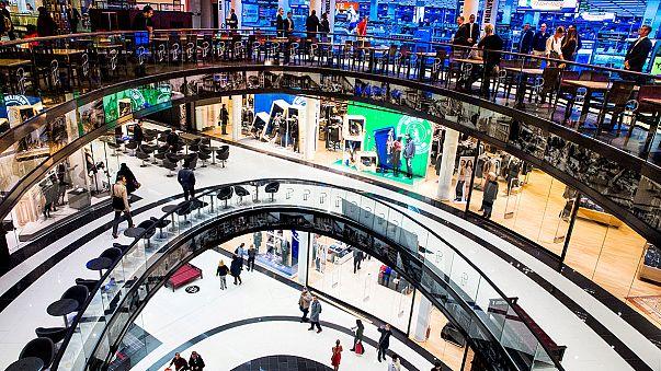 La eurozona se desaceleró en el segundo trimeste al crecer un 0,3%