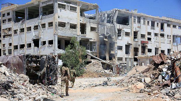 Halep'e insani yardım operasyonu başladı