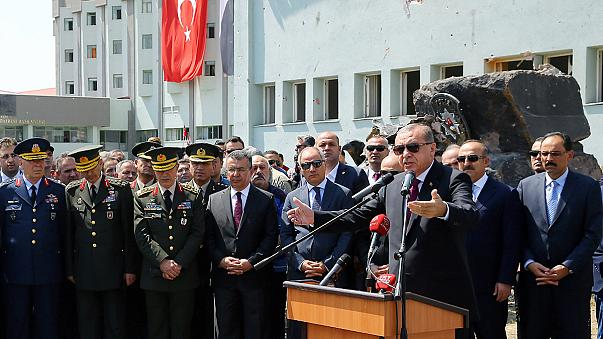 """اردوغان يتهم الجنرال الأمريكي """"جوزيف فوتيل"""" بالتحيز للانقلابيين"""