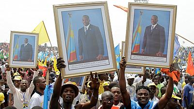 Thousands attend pro Kabila rally in Kinshasa