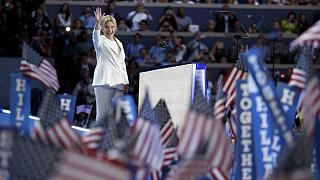 Hillary makes history as the first woman to run for the White House
