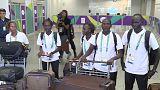 IOC refugee team members arrive in Rio