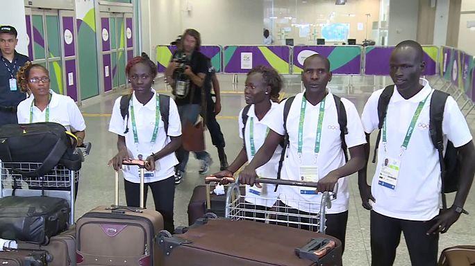 Une équipe de réfugiés aux JO