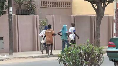 Senegal authorities sweeping child beggars off streets