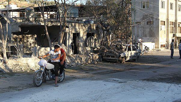 Une maternité bombardée en Syrie : deux morts