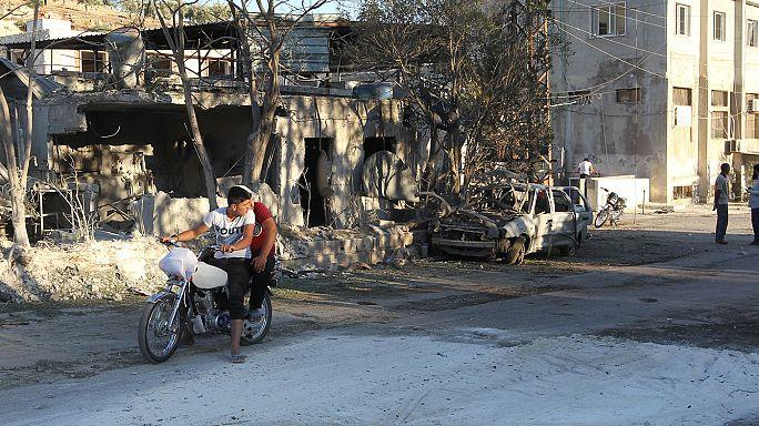 مقتل شخصين في قصف مستشفى للولادة في إدلب