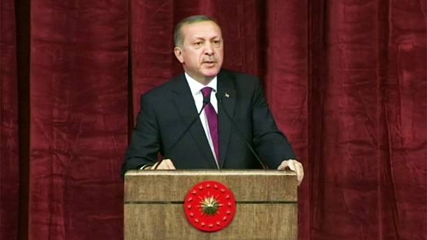 Turkey's Erdogan drops 'insult' lawsuits and condemns West