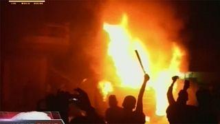 Varios templos budistas incendiados en Indonesia