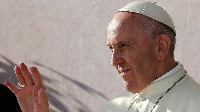 Папа римский Франциск в Кракове