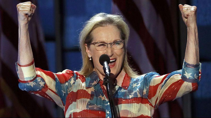 'Girl power' for Hillary Clinton