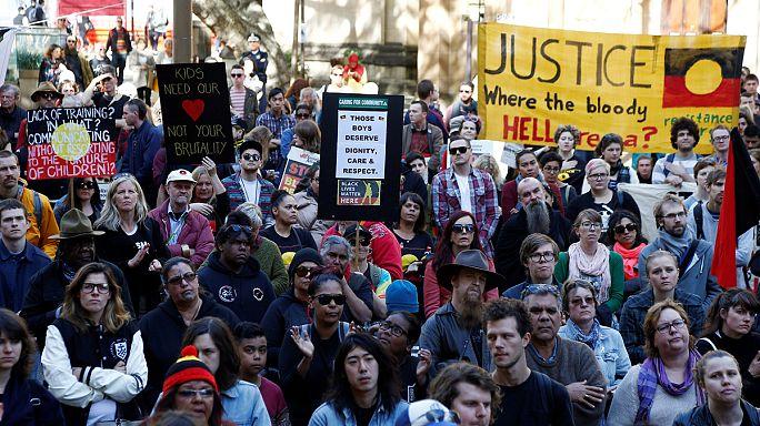 """استراليا : مظاهرات للتنديد بتعذيب الأطفال القصر في سجن """"دون دالي"""""""