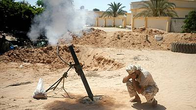 Libyan forces take fight against IS to Dollar neighbourhood