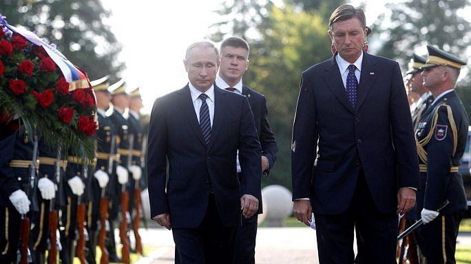 Путин поблагодарил Словению за сохранение памяти о погибших здесь согражданах