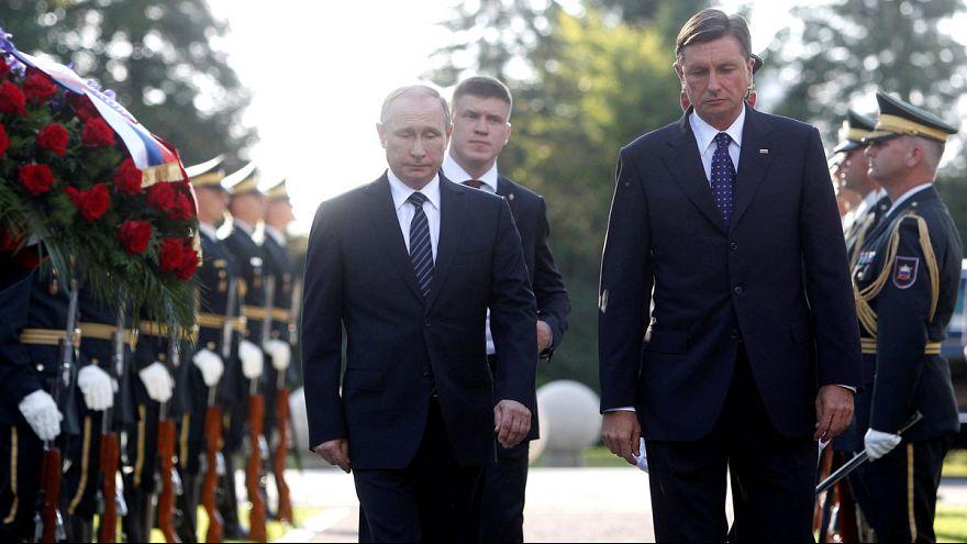 بوتين في سلوفينيا لتعزيز العلاقات الثنائية بين البلدين