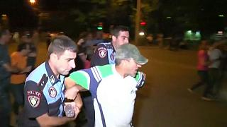 Policeman shot dead as Armenia hostage siege escalates