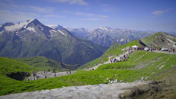 درخشش فرانسوی ها در مسابقه کوهستان آلپ