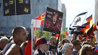 تظاهرة لليمين المتطرف في برلين ضدّ اللاجئين