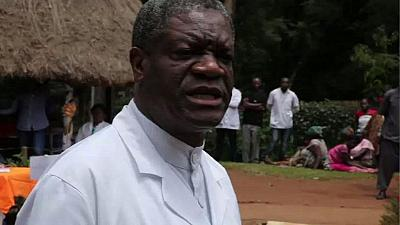 DRC: Mukwege hopeful on December polls