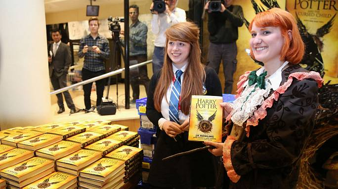 JK Rowling thanks Harry Potter fans as 'Cursed Child' script released
