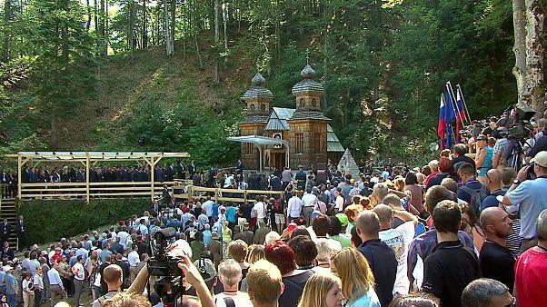 Putin-Visite in Slowenien