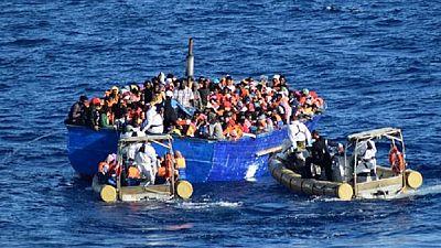 Des migrants secourus en Méditerranée