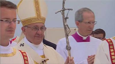 Pologne: le pape clôture les JMJ à Cracovie