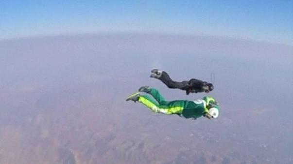 Freefaller Luke Aikens dives full throttle into the record books