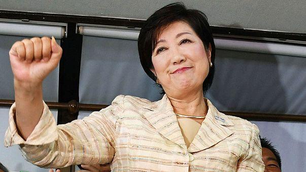 طوكيو تنتخب أول إمرأة حاكمة للمدينة