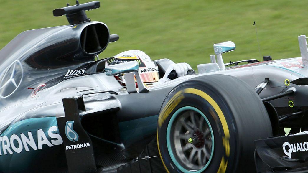 Speed: Hamilton ve Meeke rakip tanımıyor