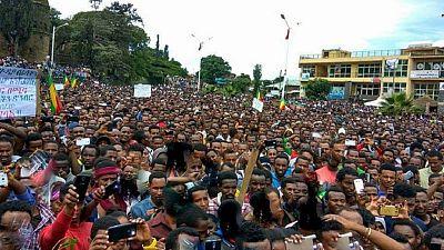 Ethiopie : des milliers de manifestants rassemblés à Gondar
