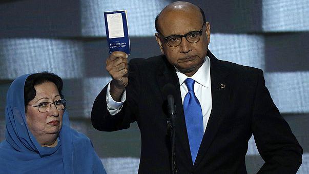 La madre del capitán Khan, condecorado tras fallecer en Iraq, responde al candidato Trump