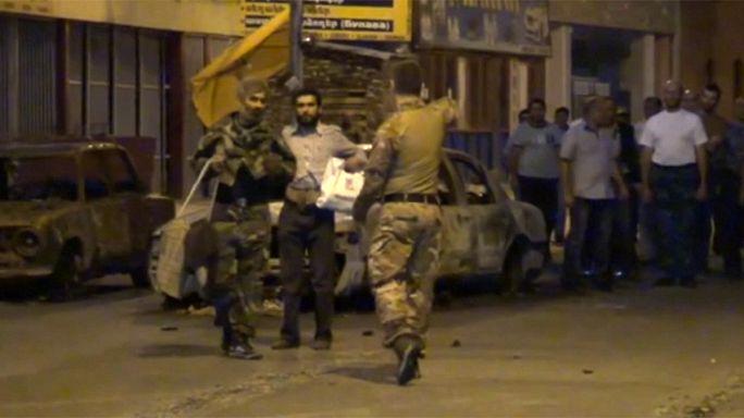 Ermenistan'da karakol basan silahlı grup teslim oldu