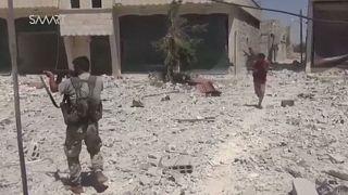 Contre-attaque à Alep