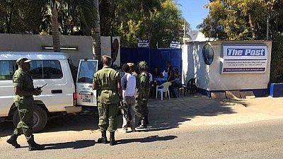 Zambie : le quotidien The Post toujours fermé