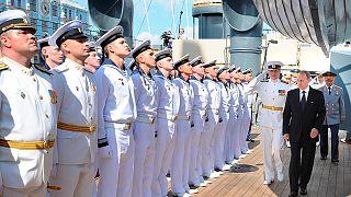 روز نیروی دریایی در روسیه